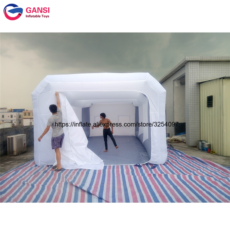 inflatable paint spray booth22