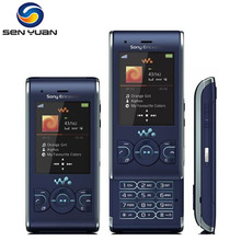 W595 Original Unlocked Sony Ericsson W595 GSM 2G Bluetooth 3.15MP  Mobile phone Cellphone Free Shipping
