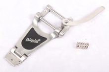 Premium Tremolo Vibrato Bridge bigsby B70 silver color