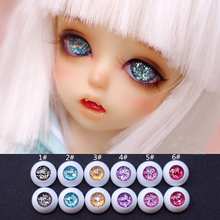 1Pair DIY Acrylic Doll Eyes for 1/3 1/4 1/6 BJD Eyes10MM 14MM 16MM 18MM 20MM Dolls Accessories Toy(China)