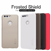 Huawei Honor 8 Case Nillkin Frosted Shield Hard Plastic Back Cover Case for Huawei Honor 8 (5.2 inch) with Screen Protect(China)