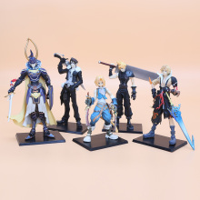 5pcs/set Final Fantasy Figure Toys Character FF Solid set the 1st PVC Action Figures Model Collection toys gift(China)