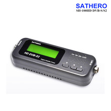 SH-100HD SAT Finder DVB-S/S2 HD Sathero Pocket Digital Satellite Finder Signal Satellite Receiver With USB 2.0 LCD Display
