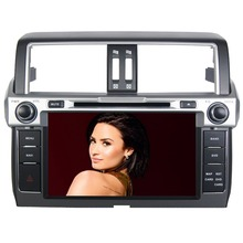 "9"" HD  Quad Core Android 6.0 Car DVD Radio GPS Navigation Player for Toyota Land Cruiser Prado 150 2014 2015 2016 ADAS DVR"