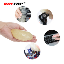 VOLTOP 1pcs Car Clay Bar Clean Mud Wash Mud Cleaning Tool Details Dead Dirty Care Auto Home Office Strong Adhesion Remove Sludge(China)