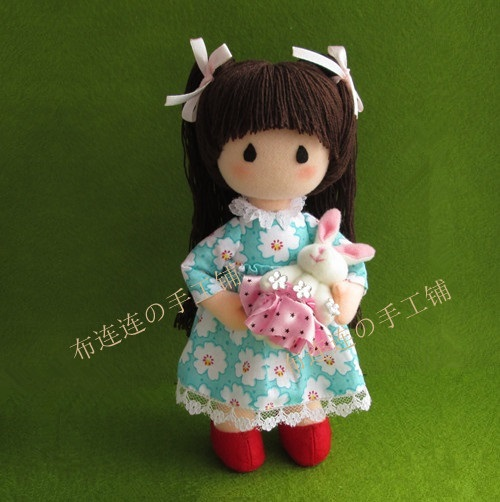 diy  material  sets  Handmade doll stuffed toy Alice  doll  doll making doll<br>