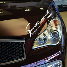 New Style Sports Mind Produced by Sports Stickers Car Accessory Decals for Infiniti Q50 Q60 Q70 Q70L QX30 QX50 QX70 QX80(China)