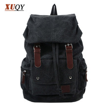 New Fashion Mens Designer Backpack Patchwork Vintage Canvas Shoulder bag School Bags For Teenagers BK0077