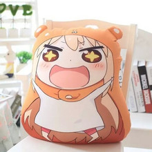 32CM One Piece Cute Himouto Umaru-chan Plush Ultralight Cushion Foam Particles Stuffed Sleeping Pillows Lovers Birthday Presents
