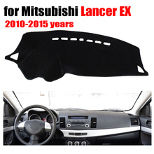 Car dashboard Covers For Mitsubishi LANCER EX ES 2010-2015 years Left hand drive custom dashmat car dash pad auto accessories(China)