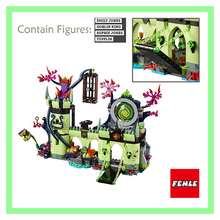 2017 New Lepin castle 750pcs Friends Goblin Kings house escape plan Building Kits Blocks Bricks Toys for girls gifts