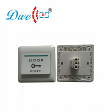 DWE CC RF Access Control Accessories Fireproof Exit Button NO/NC/COM Door Push Button Door Switch Release DW-B01(China)