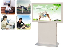 1080p lcd tft 42 46 55 65 inch 3g 4g wifi lcd full HD floor standing HD lcd ad Mobile telecommunication pc tv signage(China)