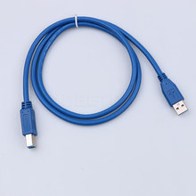 Universal 1m USB Printer Cable USB 3.0 Type A Male to B Male Scanner Extension Printer Cable Data Charging Connector Adapter