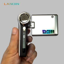 lanqin Mini Portable 2.5 Inch TFT LCD Screen Full HD 1280x720P Digital Video Camcorder 8x Zoom DV Camera COMS Video Recoding(China)