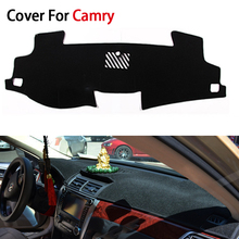Car Styling Dashboard Protective Mats Shade Cushion Photophobism Pad Interior Carpet For Toyota Camry 2012 2013 2014 2015 LHD