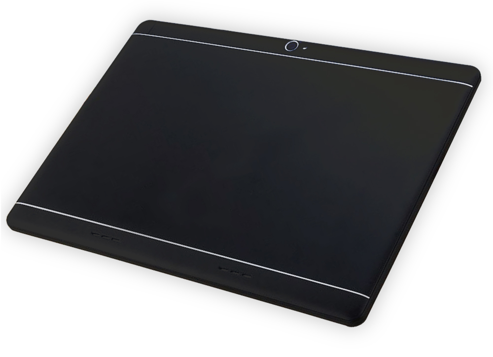 black deca core tablet pad