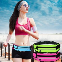 Gym Waist Bag Waterproof Sport Outdoor Fashion Belt Universal Phone Case Pouch For Samsung S8 Plus S6 7 edge Mini J1 3 5 A3 2016