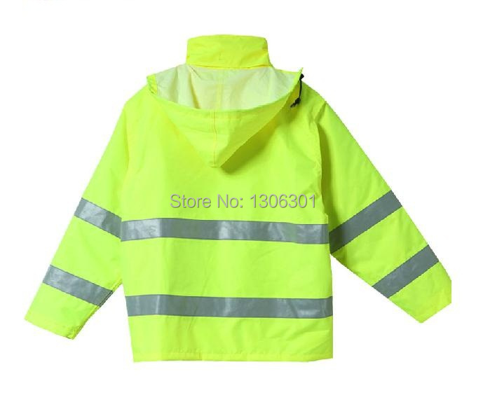Reflective cotton coat safety work coat reflective winter coat  with the hidden hat<br><br>Aliexpress