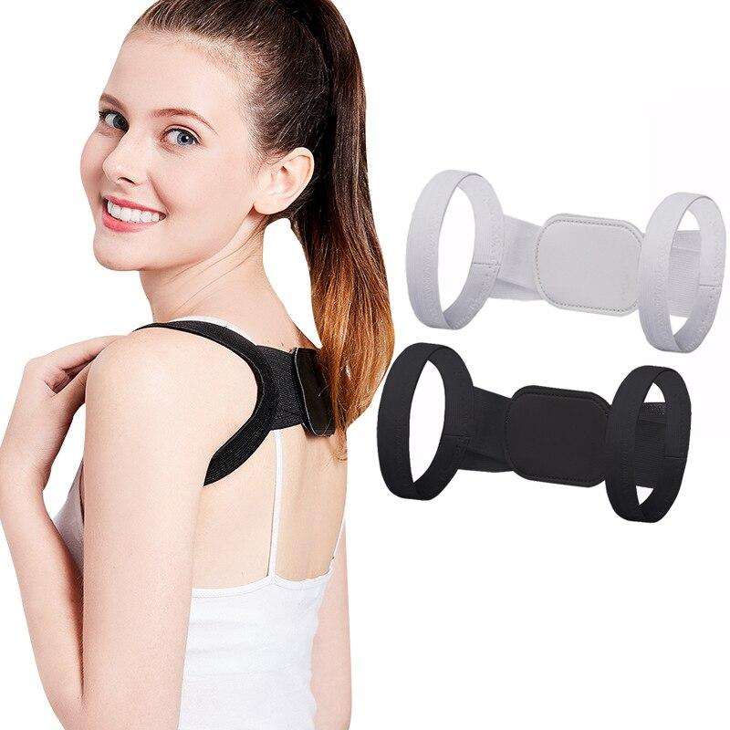 High-elastic Posture Corrector Back Support Strap Brace Shoulder Spine Support lumbar Correction Orthopedic Belt Children Adult