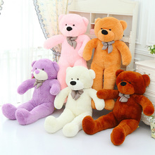 [80CM 5 Color] Large Size Teddy Bear Plush Toys Stuffed Toy Big Bear Lowest Price Birthday gifts Christmas Gifts(China)