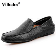 Buy Viihahn Mens Shoes 2017 Summer Casual Loafers Male Moccasins Breathable Slip Genuine Leather Driving Flats Shoes for $25.99 in AliExpress store