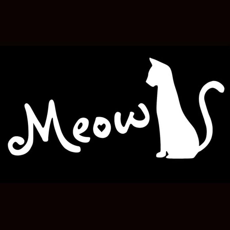 силуэт кошки фото