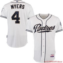 MLB Men's San Diego Padres Wil Myers Baseball White Home 6300 Player Authentic Jersey(China)