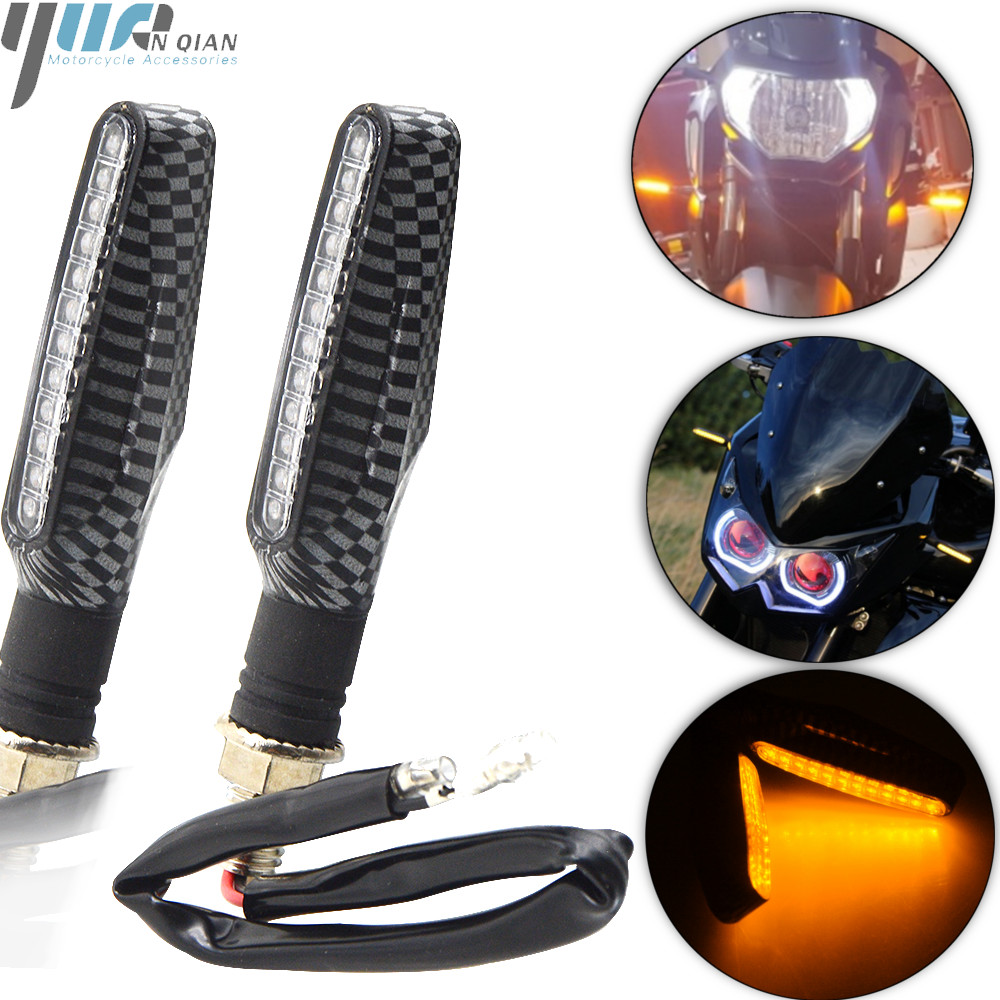 Moto LED Turn Signal Light Universal for yamaha FZ-09/MT-09/SR FJ-09/MT-09 TRACER 1XJR 1300/RACER 04-16 TDM 900 MT125 mt03 mt07