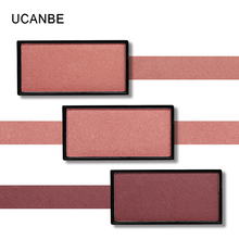 UCANBE Aurora Blusher Polarizing Single Blush Palette Shimmer Highlighter Make Up Brighten Powder Long-Lasting 3d Face Cosmetics(China)