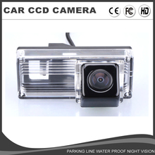 CCD Car Reverse Camera HD Rear View Camera for For Toyota Land Cruiser LC 100 LC120 LC200 Prado 120 Reiz Backup Parking Camera