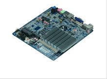 Hot sale Intel J1800/2.41 GHz Dual-core CPU fanless all in one thin Clients industrial embedded motherboard(China)