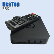 [Genuine] MX Pro Amlogic S905 Quad Core Andorid 5.1 TV BOX MX-Pro 1000M LAN 1GB/8GB 2.4GHz WiFi BT4.0 H.265 KDPLAYER Mini PC DH(China)