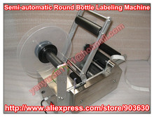 100% Warranty 220V/110V Semi-automatic Round Bottle Labeling Machine,Adhesive Sticker Labeling Machine MT-50(Bottle OD:15-100MM)