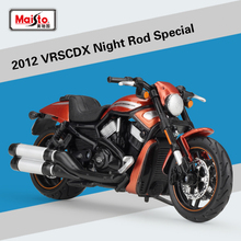 Maisto New 1:18 Scale Harley 2012 VRSCDX Night Rod Special Classic Diecast Motorcycle Model Toy For Kids Gifts Colllection