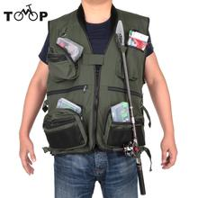 Summer Professional Fishing Vest Fishing Polyester Adult Safety Life Jacket Survival Vest Swimming Boating Drifting Waist Coat(China)