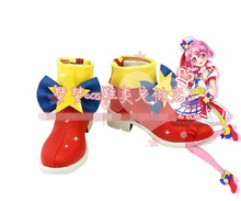 Free Shipping PriPara Reona West Cosplay Shoes Halloween Japan Anime Boots Custom-made