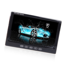 "KKmoon 7 Inch Car Monitor TFT LCD 7"" HD Digital 16:9 480 * 234 Screen for Reverse Rear View Camera DVD VCD Car DVD Screen"