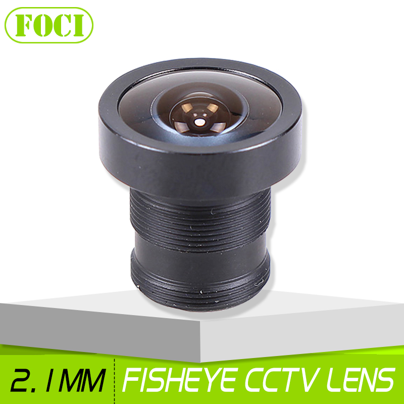 2.1mm 150 Degree Fish Eye CCTV Camera Lens Wide Angle M12 MTV Fisheye Lens For Surveillance Camera Security System(China)