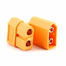 20pcs(10 pairs) RC battery connector XT 60 XT60 Plug RC battery Plug ESC for RC lipo battery helicopter(China)