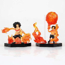 SERIE COMPLETE: 2 PCS ACE Anime ONE PIECE