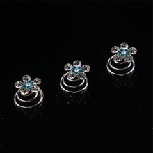 Hot sale Many Styles To Choose From Crystal Screw Clamp The Bride Wedding Jewelry Accessories New Arrival(China)