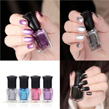 1 Bottle 6ml Amazing Mirror Chrome Effect Nail Powder Beauty 9 Colors Nail Polish Foil Nails Art Glitter Silver Hot Best Deal(China)