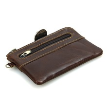 Genuine Leather Small Wallet Purse Coin Purse Key Bag