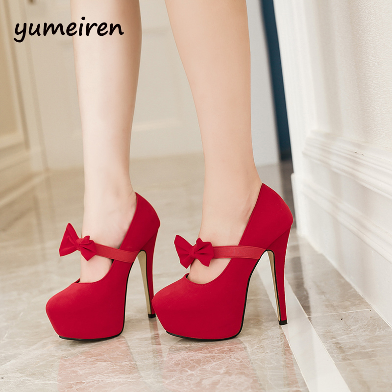 bow heels women high heels shoes sapato feminino red wedding shoes platform heels sexy black pumps women shoes womens heels X26<br><br>Aliexpress