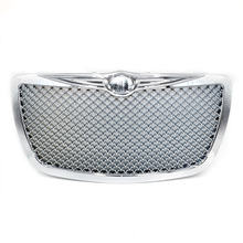 Racing Car Front Grills for Chrysler 2004 2005-2010  300C 300 Limited Tour Chrome Grille Grille Mesh YC101088