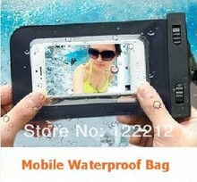 New Arrivals outdoor rafting diving swimming phone waterproof bag case for AGM ROCK V5 dual core 3G phone bag Free shipping(China)