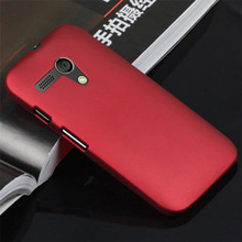Wholesale Cellphone Shell Back Cases For Moto G X1032 Hard Plastic Case Matte Ultra Thin Anti Skid Rubber PC Covers Phone Case