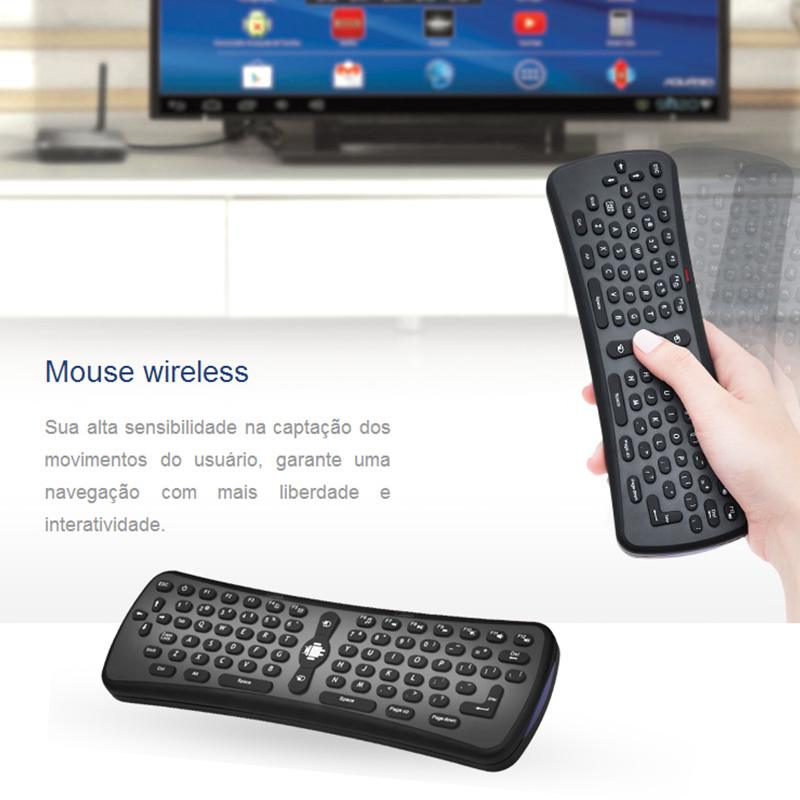 2.4G Airmouse remote keyboard T6 01