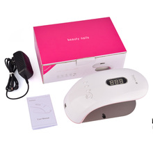 Nail Dryer 18W 36W UV LED Lamp Fast Curing Gel Based Polishes Beauty Salon Nail Art Manicure Pedicure Infrared Sensor Timer Set(China)